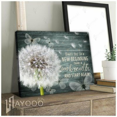 Every Day Is A New Beginning Wall Art