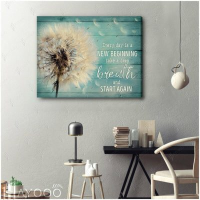 Beautiful Dandelion Canvas
