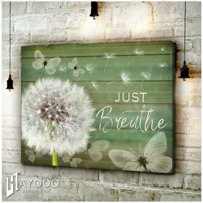 Dandelion And Butterfly Canvas