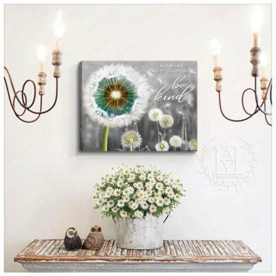 Dandelion Canvas Wall Art