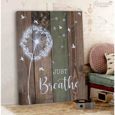 dandelion-art-farmhouse-decor-rustic-canvas