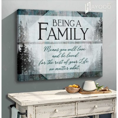 being a family canvas