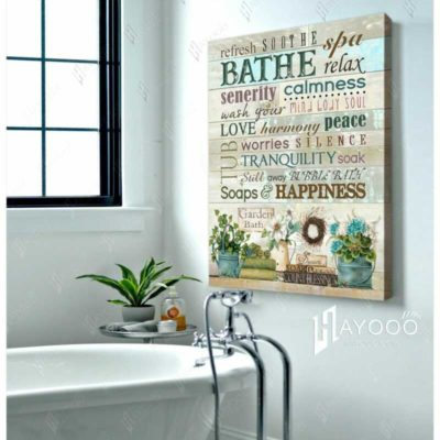 Bathroom Decor Wall Art