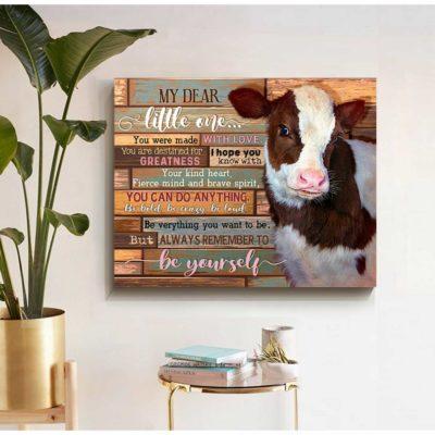 cow canvas art