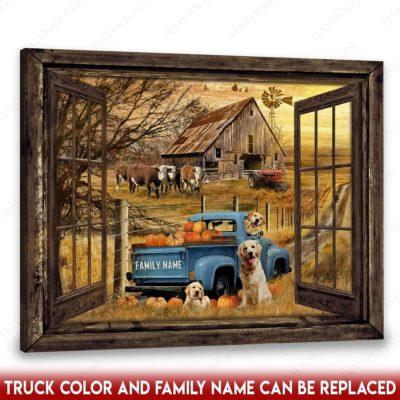 rustic pickup truck