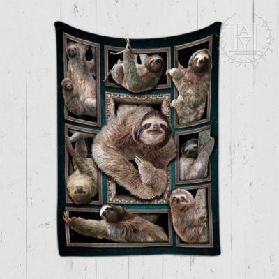 Sloths blanket
