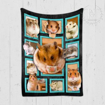 hamster blanket