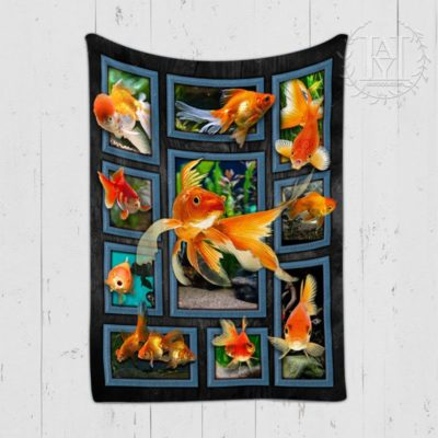 Gold Fishes Blanket