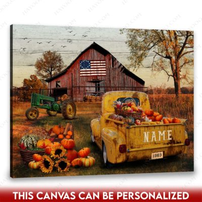 rustic barn canvas