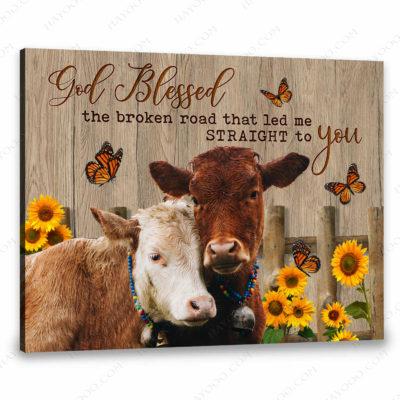 farmhouse cow art