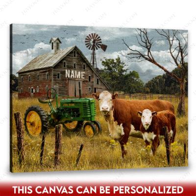 tractor canvas