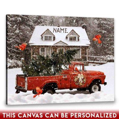 rustic christmas art