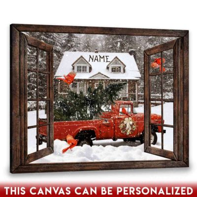 farmhouse christmas art
